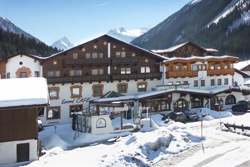 Winterurlaub im Sporthotel Antonie