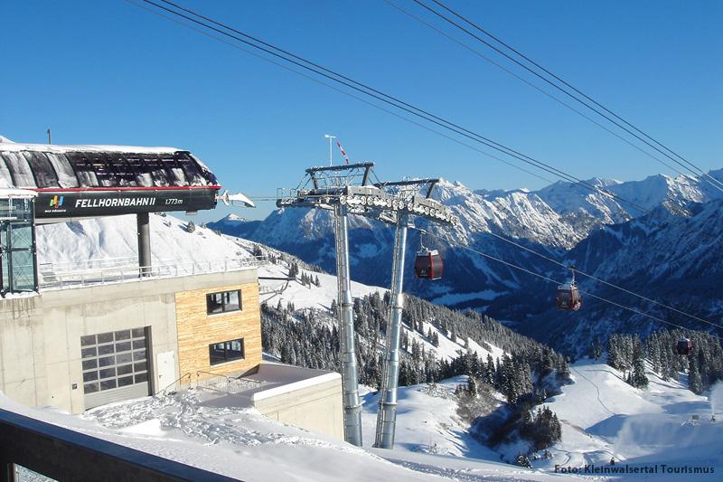 Skigebiet Kanzelwandbahn-Fellhorn