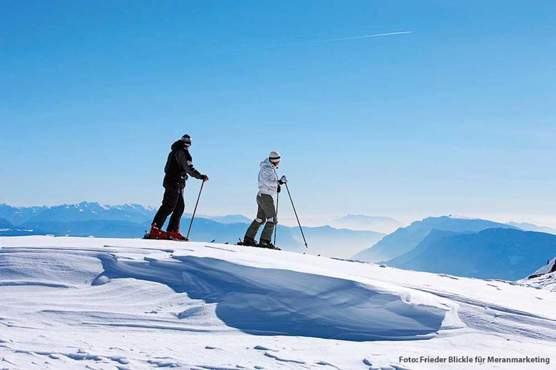 Winteraktivurlaub Skigebiet Meran 2000