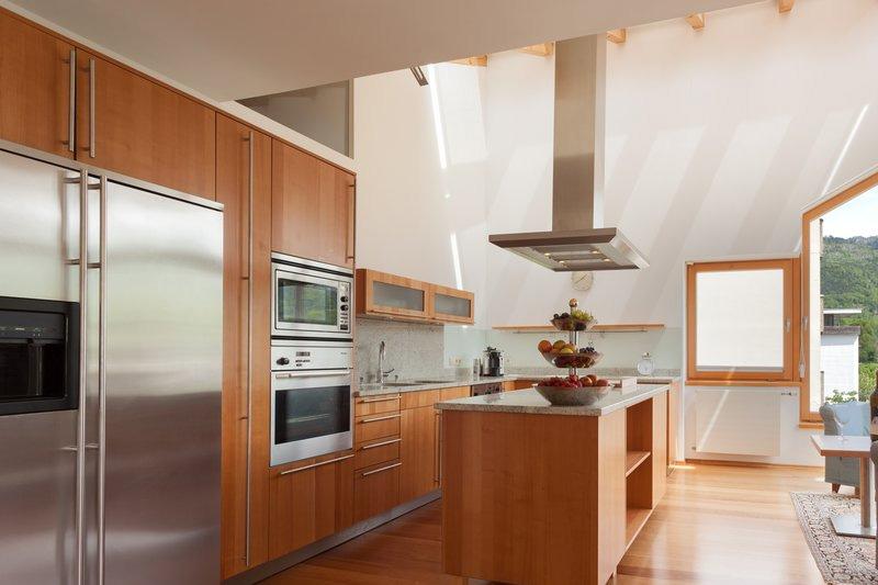 Küche in der Sky-Suite