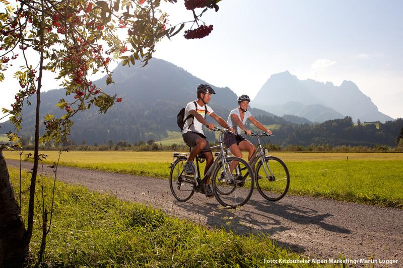 Biken in den Kitzbuehler Alpen