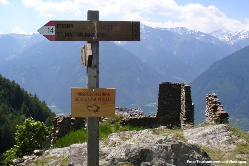 Wanderung Vinschger Höhenweg