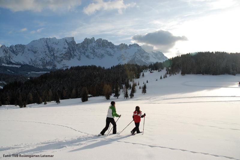 Winterurlaub in den Dolomiten