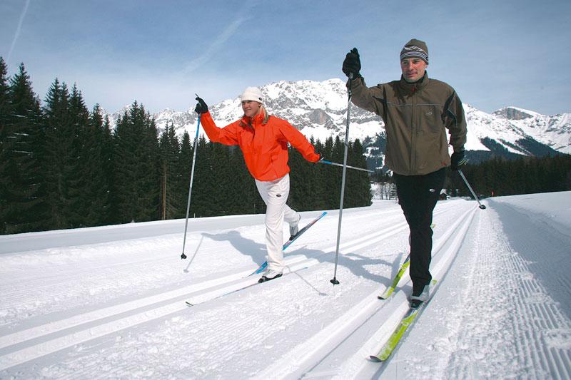 Langlaufen im PillerseeTal - Kitzbüheler Alpen