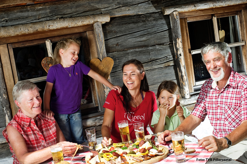 Familienfreundliche Unterkünfte/Angebote im PillerseeTal/ Kitzbüheler Alpen