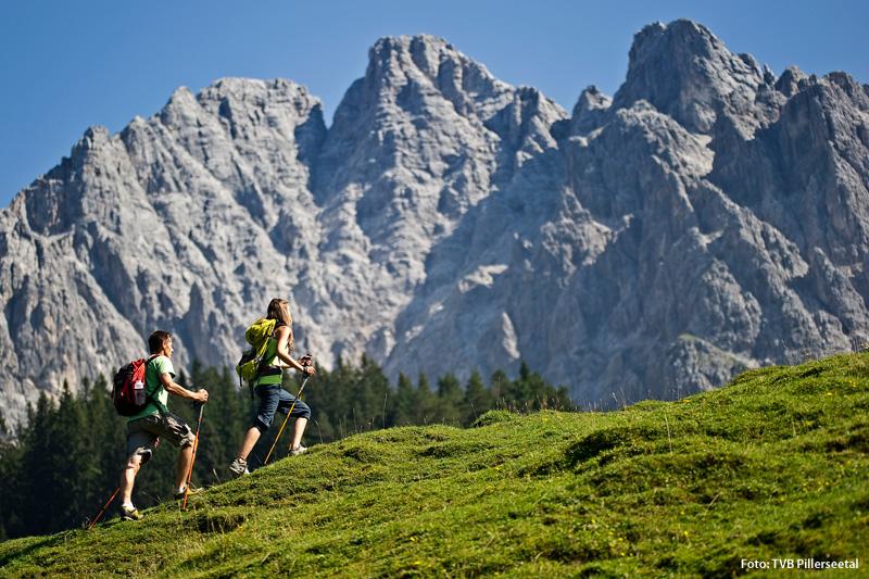 Wanderurlaub im PillerseeTal in den Kitzbüheler Alpen