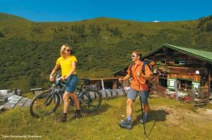 Wandern & Radeln in den Alpen