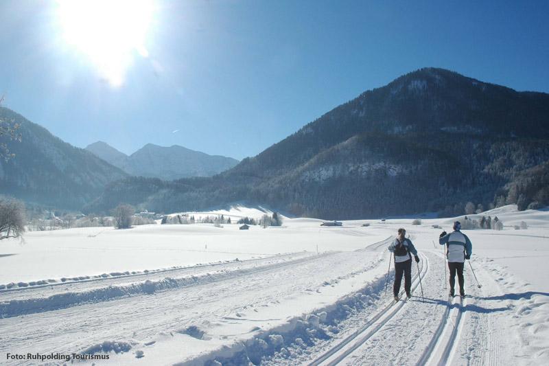 Langlaufen in der Ferienregion Ruhpolding - Unser Tipp: Die Seen-Loipe