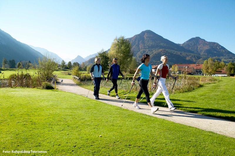 Nordic Walking in Ruhpolding