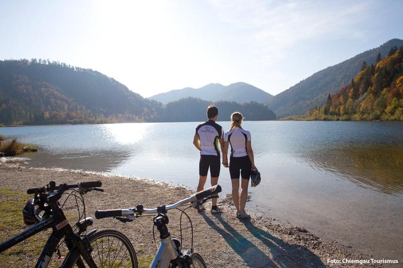 Radfahren und Mountainbiken im Chiemgau