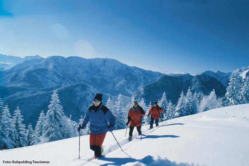 Skitour und Winterwandern in den Chiemgauer Alpen
