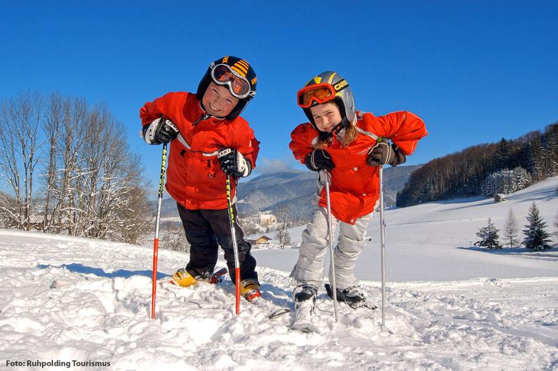 Skiurlaub für Familien in den Chiemgauer Alpen