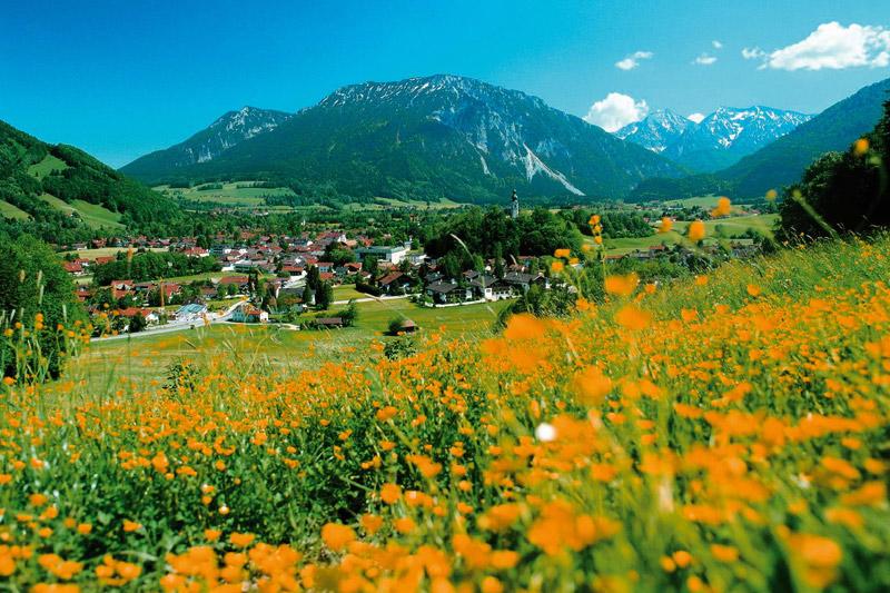 Sommerurlaub in Ruhpolding in Oberbayern