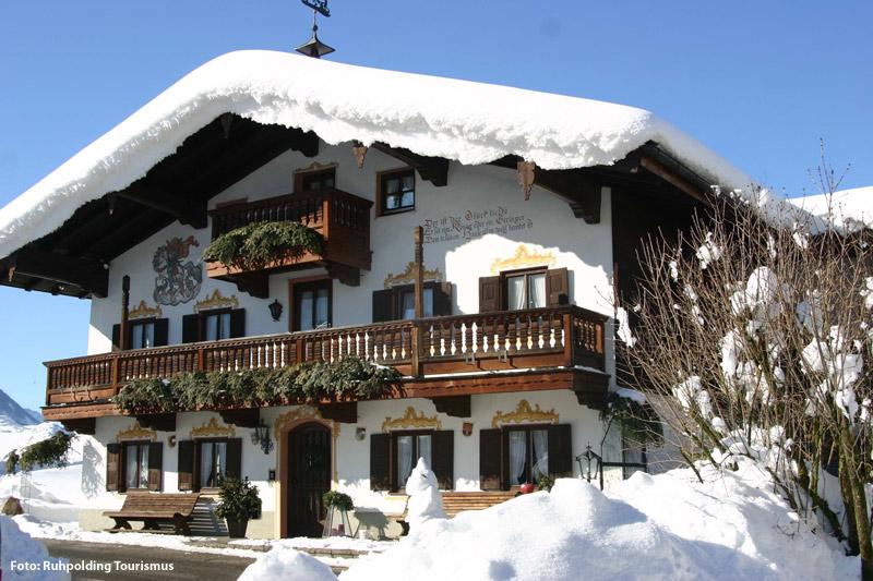 Winterurlaub in Ruhpolding in Oberbayern