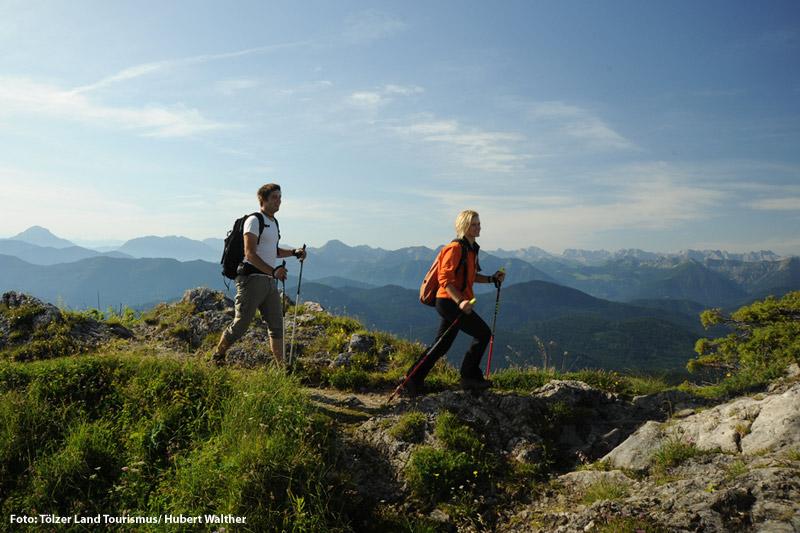 Wandern und Bergsteigen im Tölzer Land
