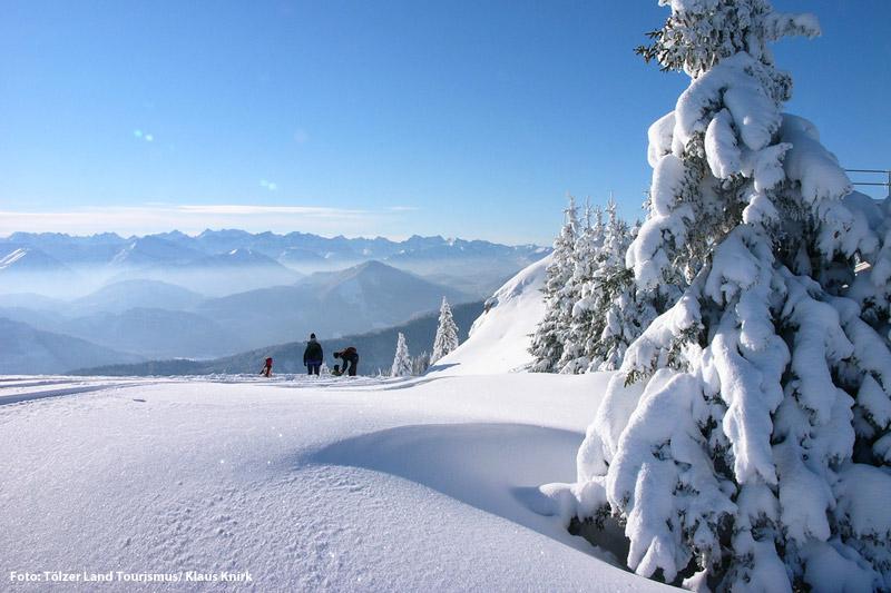 Schneeschuh- und Winterwander im Tölzer Land