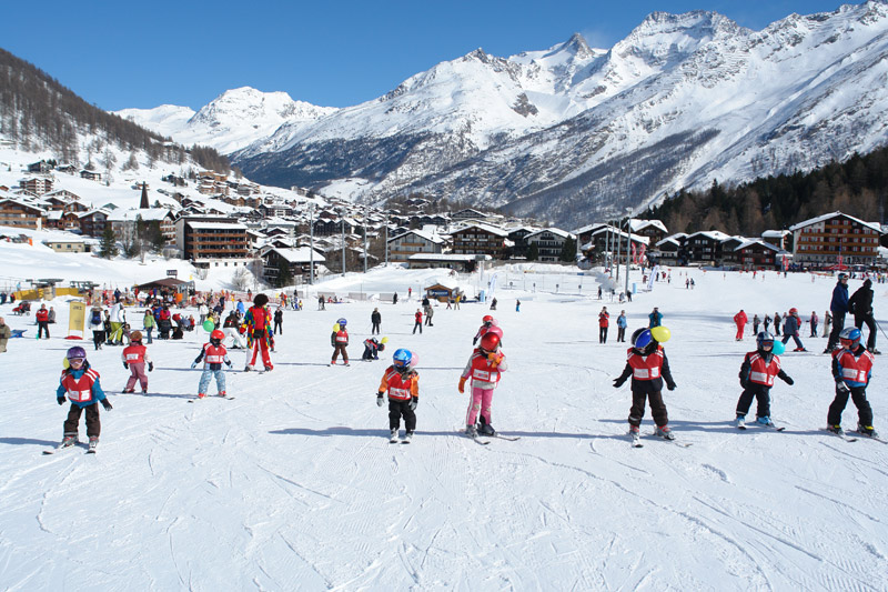 Ski Fun- und Kinderpark in Saas-Fee
