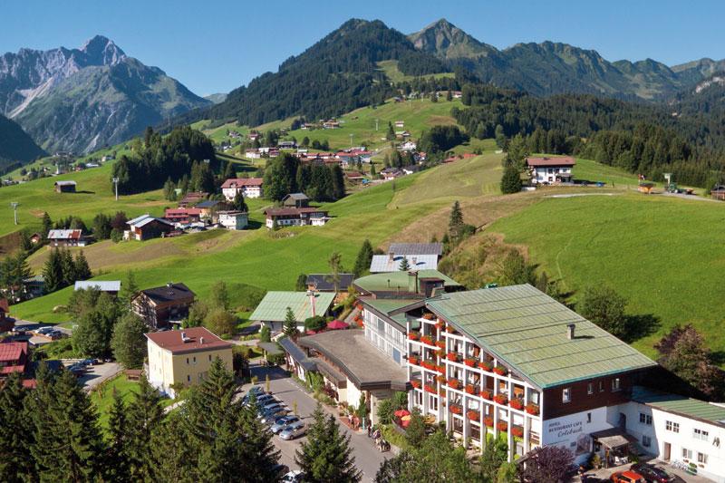 Sommerurlaub im Hotel Erlebach im Kleinwalsertal