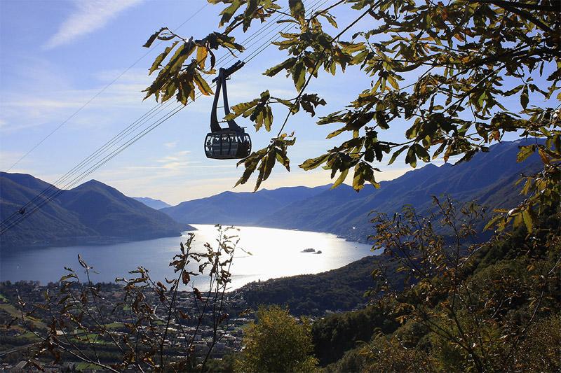 Tipp: Leichte Wanderung zum Monte Veritá. Hier bauten berühmte Philosophen und Künstler einst ihre Villen