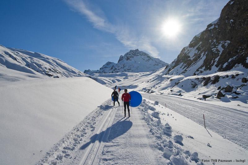 Langlaufen im schnee- & sonnenverwöhnten Paznaun