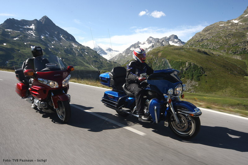 Motorradfahren in Tirol