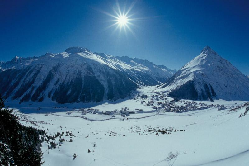 Winterurlaub im sonnenverwöhnten tiroler Skigebiet Galtür - Silvretta-Paznaun
