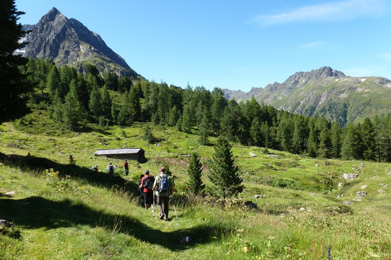 Wandern in Galtür und dem Paznauntal