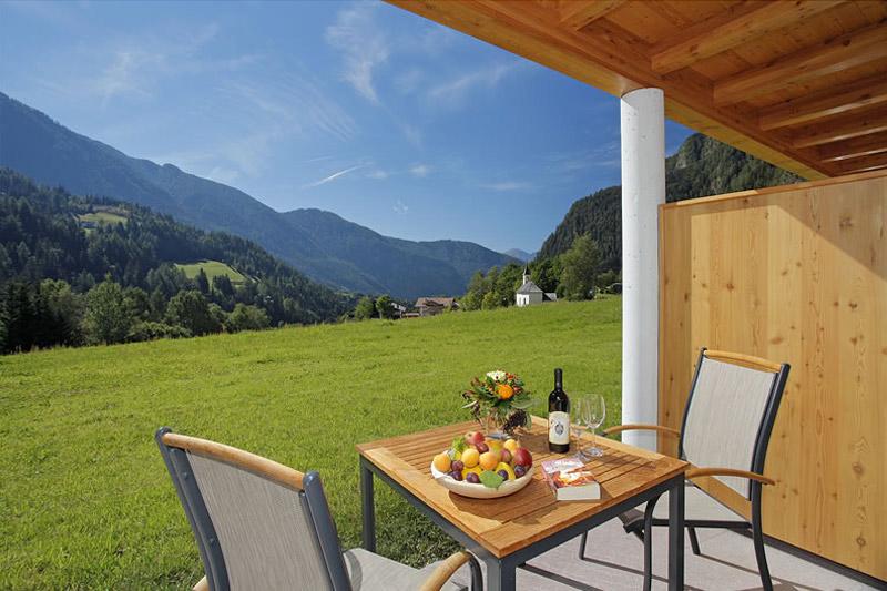 Zimmer mit Terrasse - Leitenhof