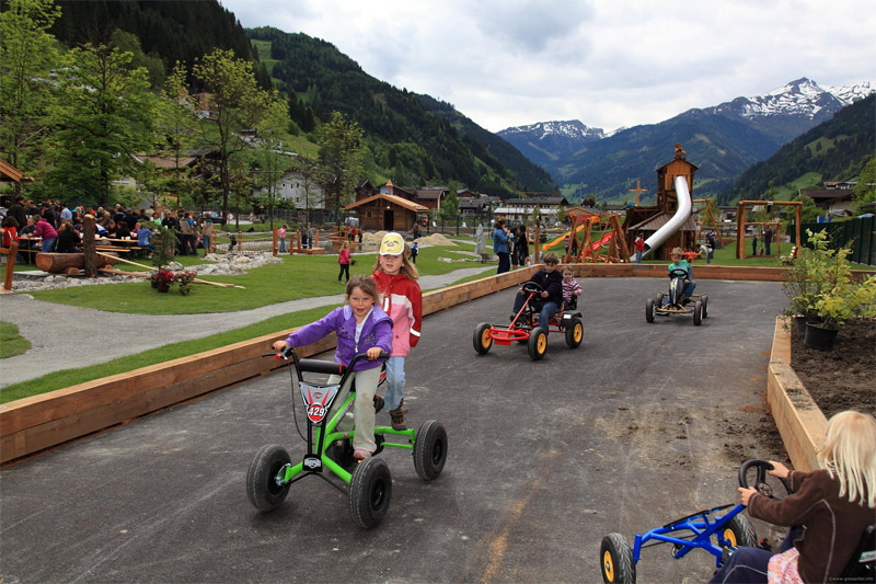 Go-Kart-Bahn für Kinder
