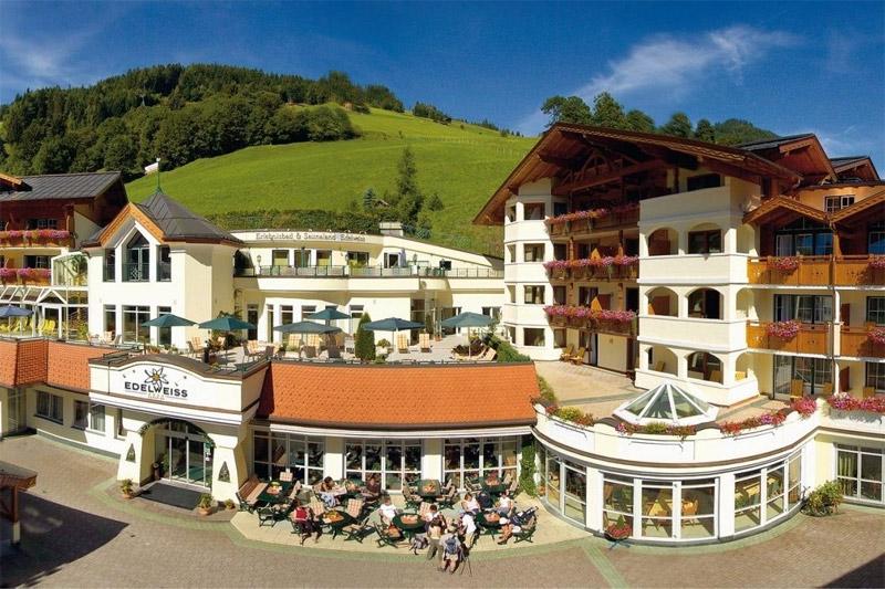 Sommerurlaub im Hotel Edelweiß Großarl
