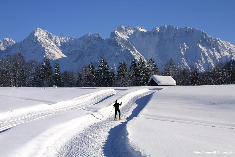 Alpenwelt Karwendel im Winter