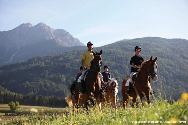Wanderreiten in Südtirol