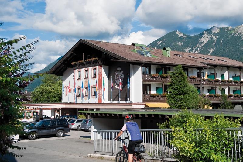 Radfahren & E-Biken in der Alpenwelt Karwendel