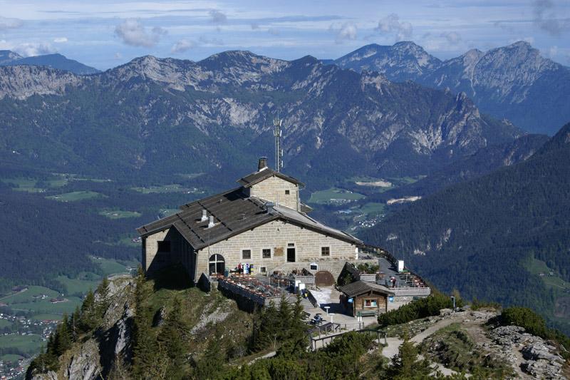 Kehlsteinhaus auf dem Obersalzberg in Berchtesgaden