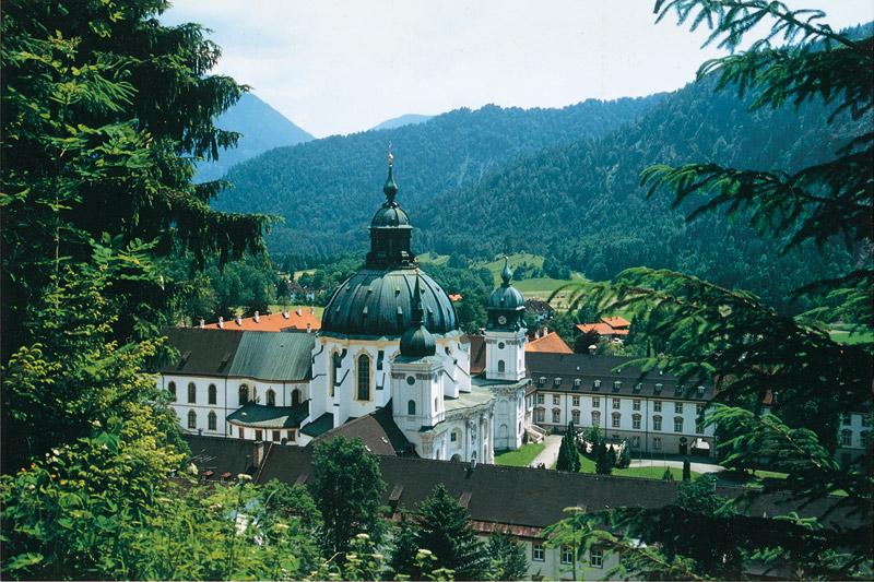 Kloster Ettal bei Oberammergau