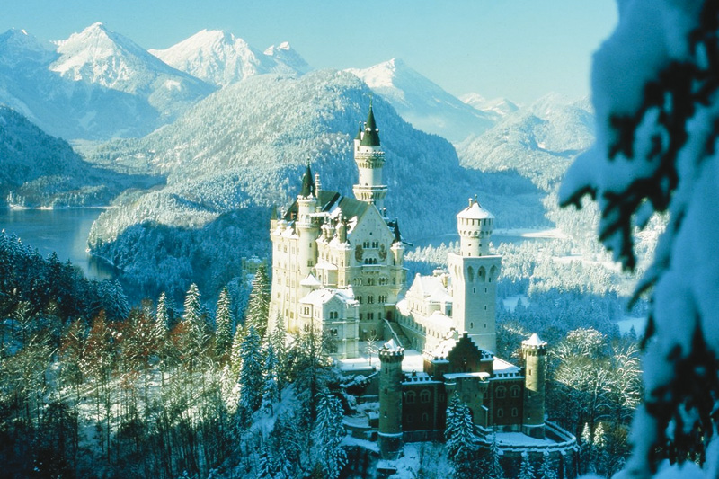 50 Autominuten bis Schloss Neuschwanstein