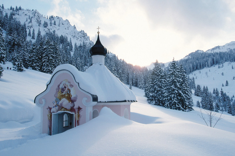 Winterurlaub in Oberbayern