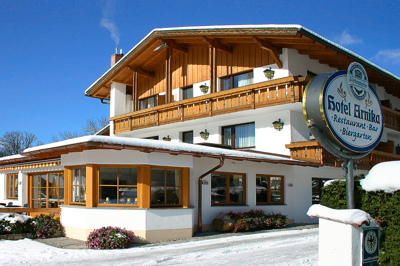 Winterurlaub im Hotel Arnika in Oberammergau