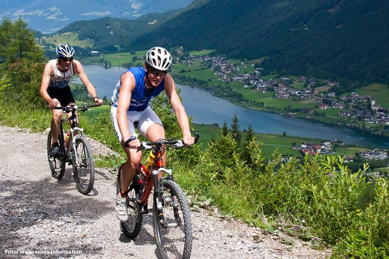 MTB Trail Weissensee in den Gailtaler Alpen