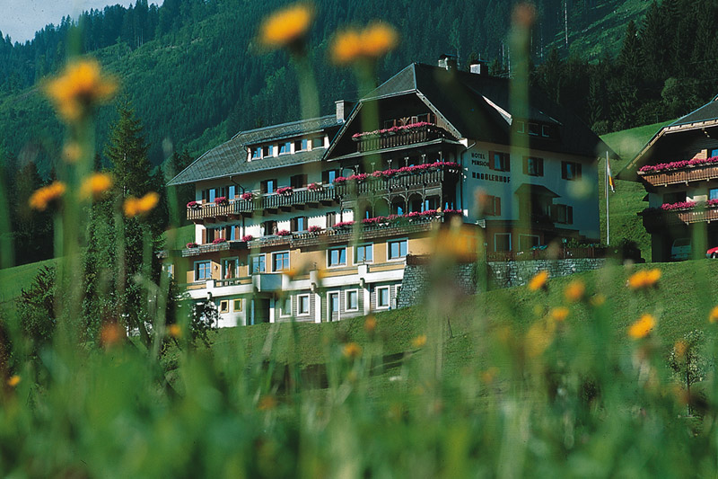 Sommerurlaub im Hotel Nagglerhof am Weissensee