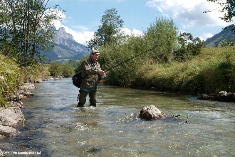 Das Tannheimer Tal - ein Geheimtipp für Fischer