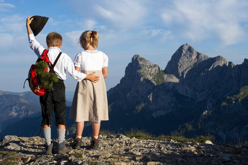 Familienurlaub im Hotel Schwarzer Adler in Tirol