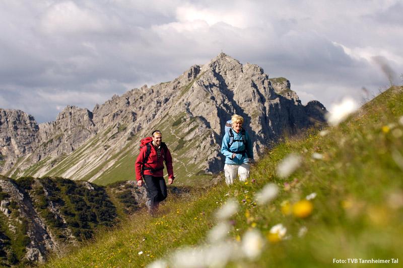 Wandern im Tannheimer Tal
