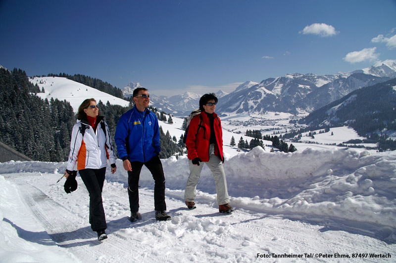 Winterwandern Tannheimer Tal