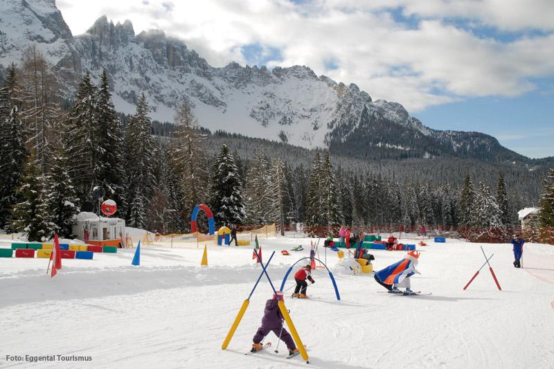 Skikindergarten und Schneespielpark Carezza Ski