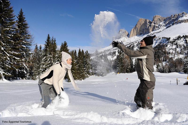Winterurlaub im Eggental