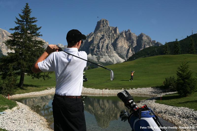 9-Loch Golfplatz Corvara in Alta Badia