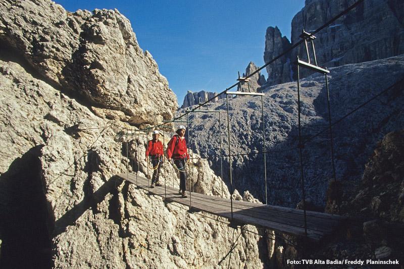 Klettersteig Tridentina Sellagruppe
