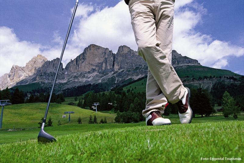 Golfclub Karersee auf 1.600 m