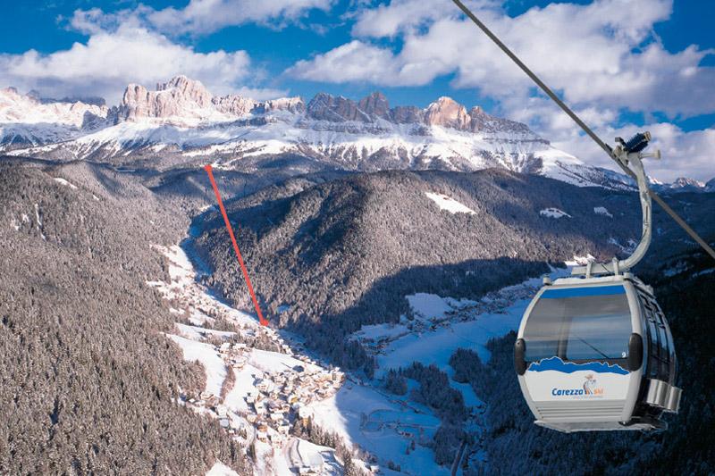 Skiurlaub in Welschnofen - Carezza Ski